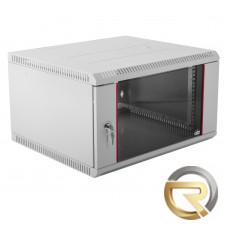Настенный шкаф ЦМО ШРН-Э 6U 650мм Серый